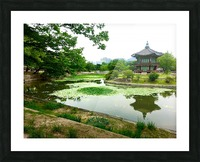 Korean Temple Picture Frame print