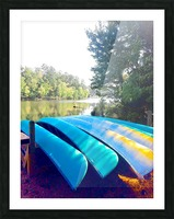 Lake Life Picture Frame print