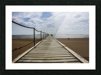 The Jetty Picture Frame print