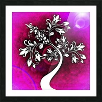 FLOWER TREE 04_OSG Picture Frame print
