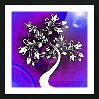 FLOWER TREE 05_OSG Picture Frame print