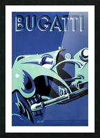 Bugatti Type 50 Super Roadster 1932 Picture Frame print