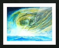 The sky 2 Picture Frame print