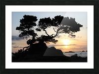 Coastal Sunset Picture Frame print