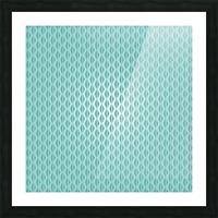 Green Diamond Art Picture Frame print