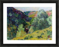 Landscape of the Creuse Picture Frame print