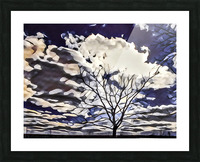 regal tree Picture Frame print