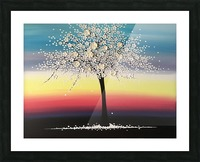 Colorful Blooms Picture Frame print
