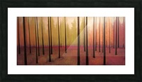 Sherbert Forest Picture Frame print