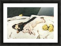 Dead hares by Albin Egger-Lienz Picture Frame print