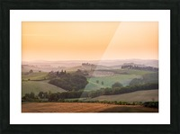 Tuscany Sunset Picture Frame print
