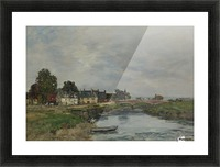 Trouville, View of Port's Landing Stage Picture Frame print