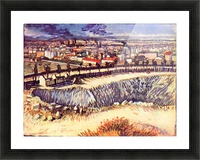 Factory by Van Gogh Picture Frame print