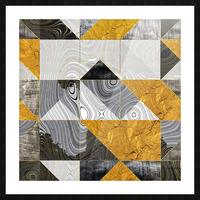 Geometric XXIII Picture Frame print