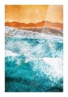 Tropical VI - Beach Waves II  Picture Frame print