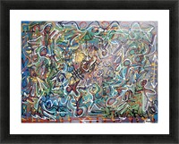 Mystic Carnival Picture Frame print