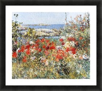 Flower Garden, Isles of Shoals Picture Frame print