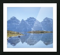 Mountain diaries Picture Frame print