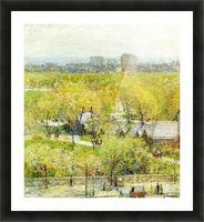 Woodland Pond Picture Frame print