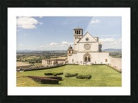 Assisi church Picture Frame print