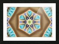 Pattern design Picture Frame print