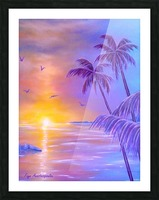 Tropical Breeze Picture Frame print