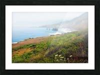 Coastal Views Fog Picture Frame print