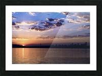 Puget Sound Sunrise Picture Frame print