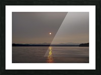 Setting Orb in view Picture Frame print