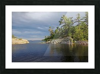 Between Rocky Outcrops To Georgian Bay Picture Frame print