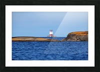 Red Rock Lighthouse Georgian Bay Picture Frame print