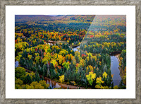 Tremblant Picture Frame print