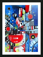 Absolute Abstracts 24 Picture Frame print