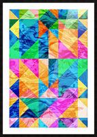 Geometric XXIX Picture Frame print