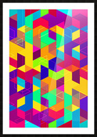 Pattern LXXX Picture Frame print