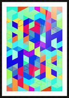 Pattern LXXIX Picture Frame print