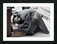 Pray Picture Frame print