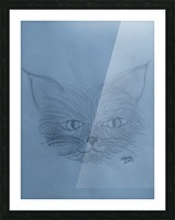 His Name is Mouse Picture Frame print