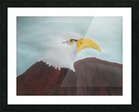 Eagle Picture Frame print