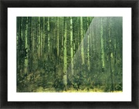 In the forest by Albin Egger-Lienz Picture Frame print