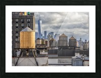 Water Towers  Picture Frame print