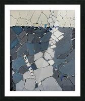 Open fields - Contemporary Art Impression et Cadre photo