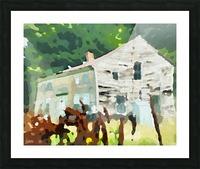 Cummington Old House Picture Frame print