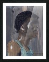 Whitney Plantation Slave Girl 5 Picture Frame print