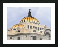 Mexico City Palacio Bellas Artes Picture Frame print