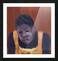Whitney Plantation Slave Girl 4 Picture Frame print