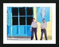 Cuba Guards Picture Frame print