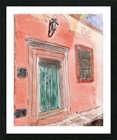Mexico San Miguel de Allende Door 1 Picture Frame print