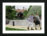 Lexington Louise and Friend Picture Frame print