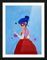 Elegant Ladybug. DaVere h. Picture Frame print